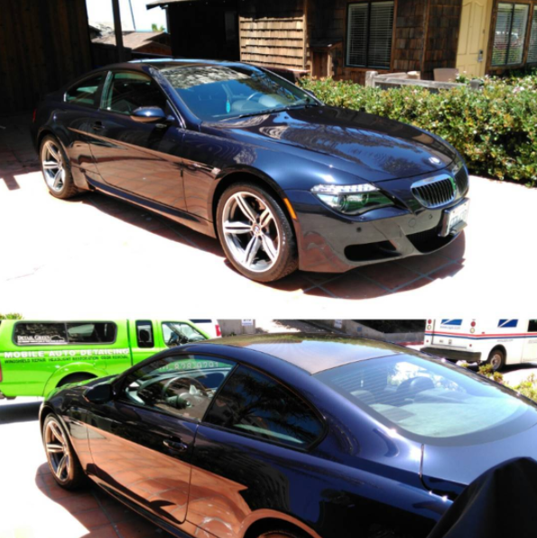 BMW Detail for Melissa in Carlsbad
